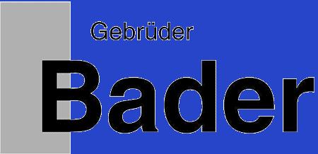 Gebrüder Bader GmbH
